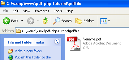 Source Code For Pdf File In Php